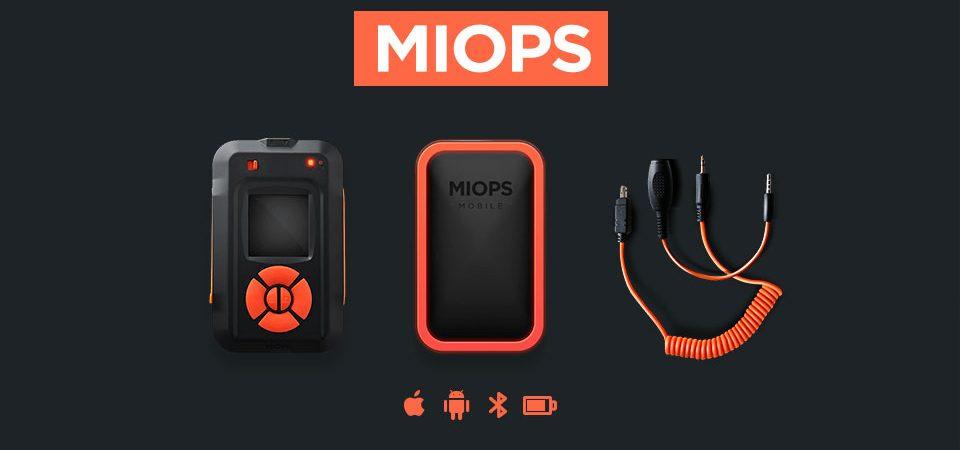 MIOPS. Дистанционное управление камерой для высокоскоростной съёмки.